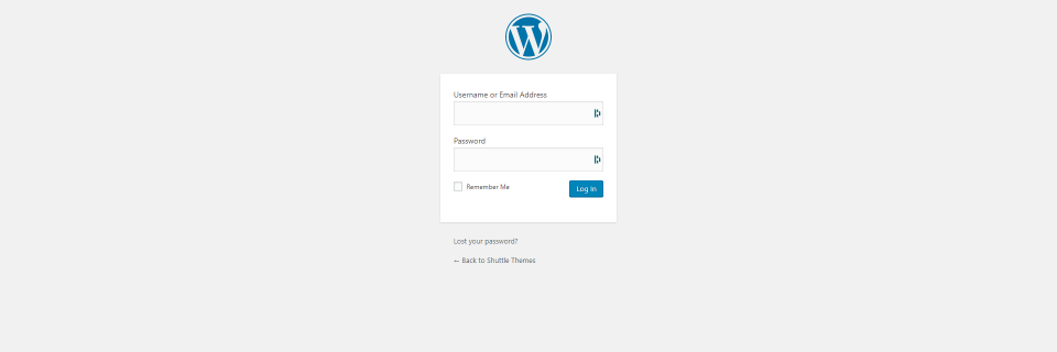 How to Tell if a Website is Using WordPress - Login page