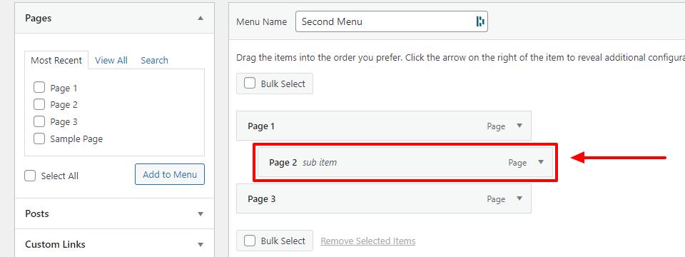 How to Add or Edit Menus in WordPress 5